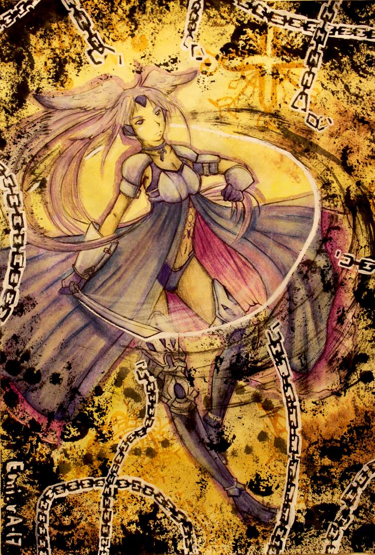 Fighting the Darkness by EminA-SakurA-17