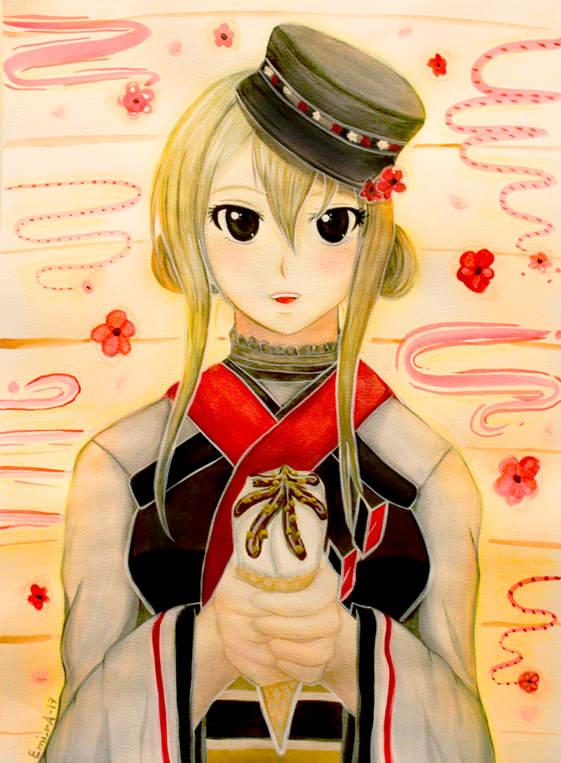 Vanilla Ice Cream by EminA-SakurA-17