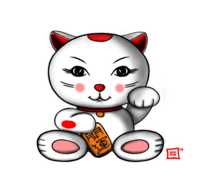 Maneki Neko by zen-emma