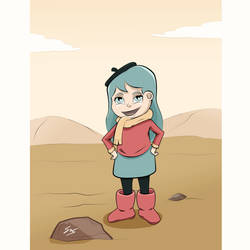 Hilda Fan art by IllyW0rld