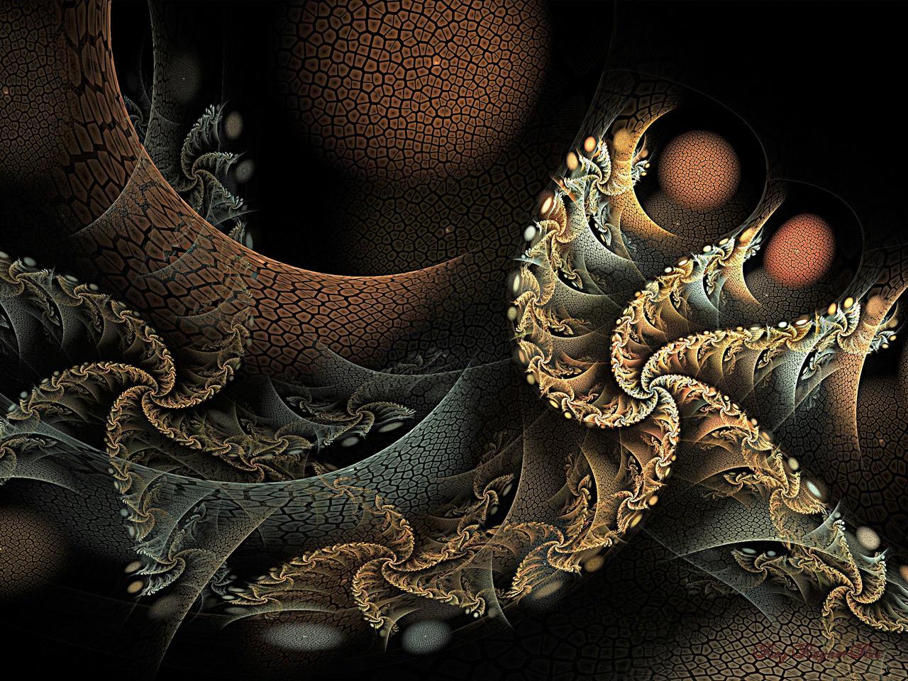 Sleepy Swirls by Rozrr