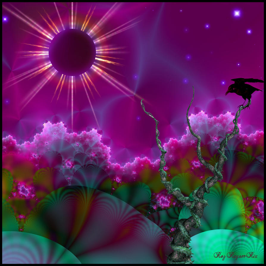 Strange Eclipse by Rozrr