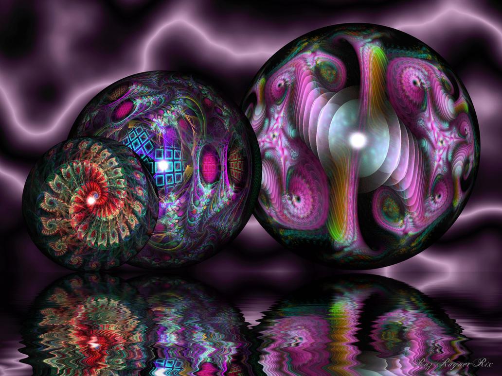 Ball Trio by Rozrr