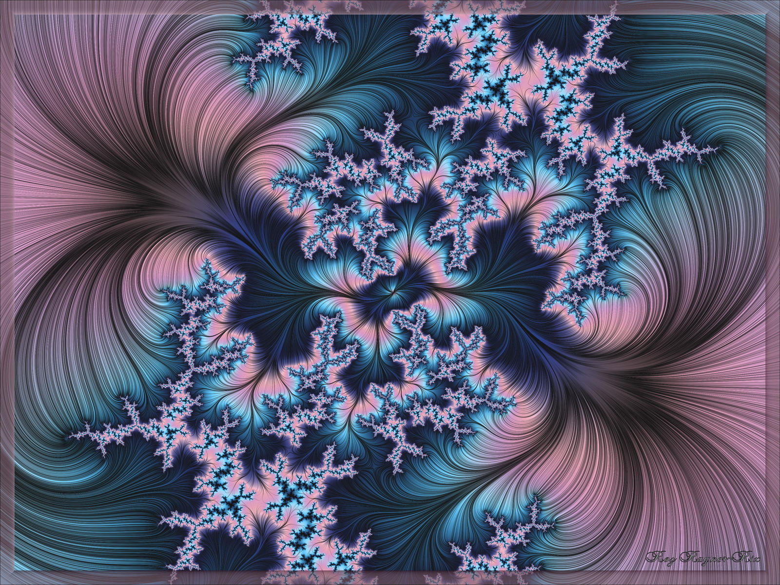 Blue Dreamer by Rozrr