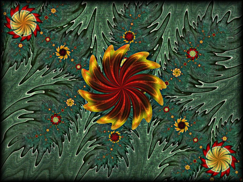 Fantasy Garden by Rozrr