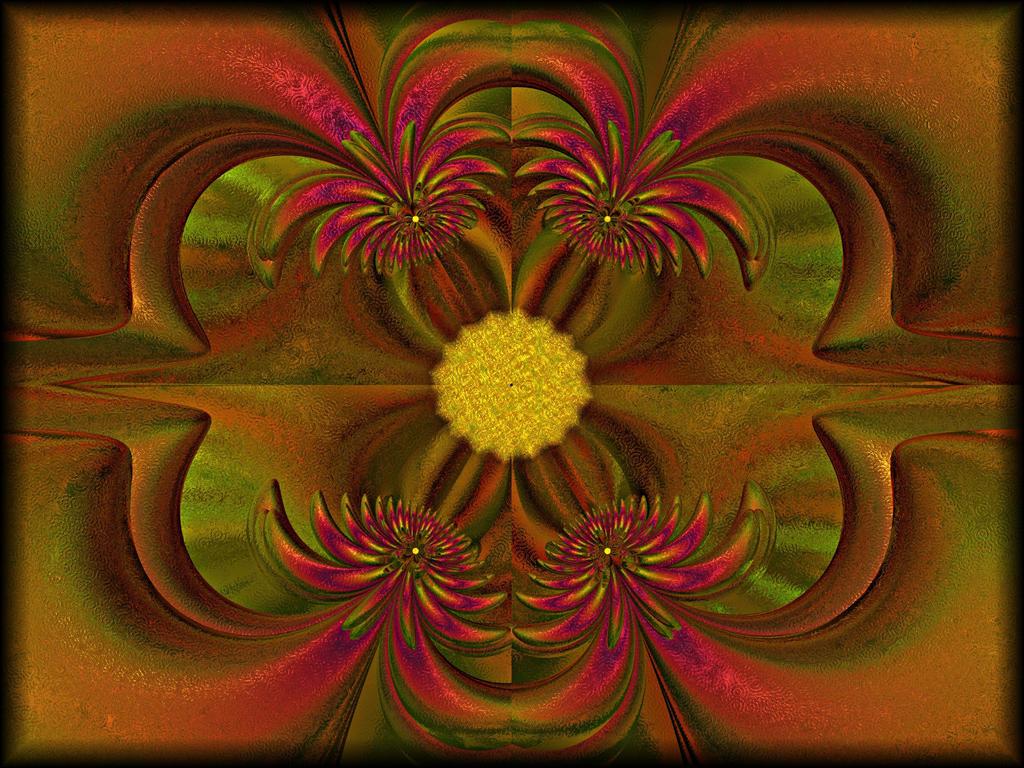 Crazy Petals by Rozrr