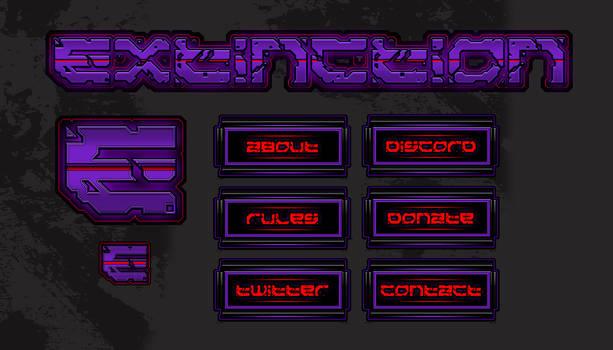 Extinction Gaming Twitch Branding