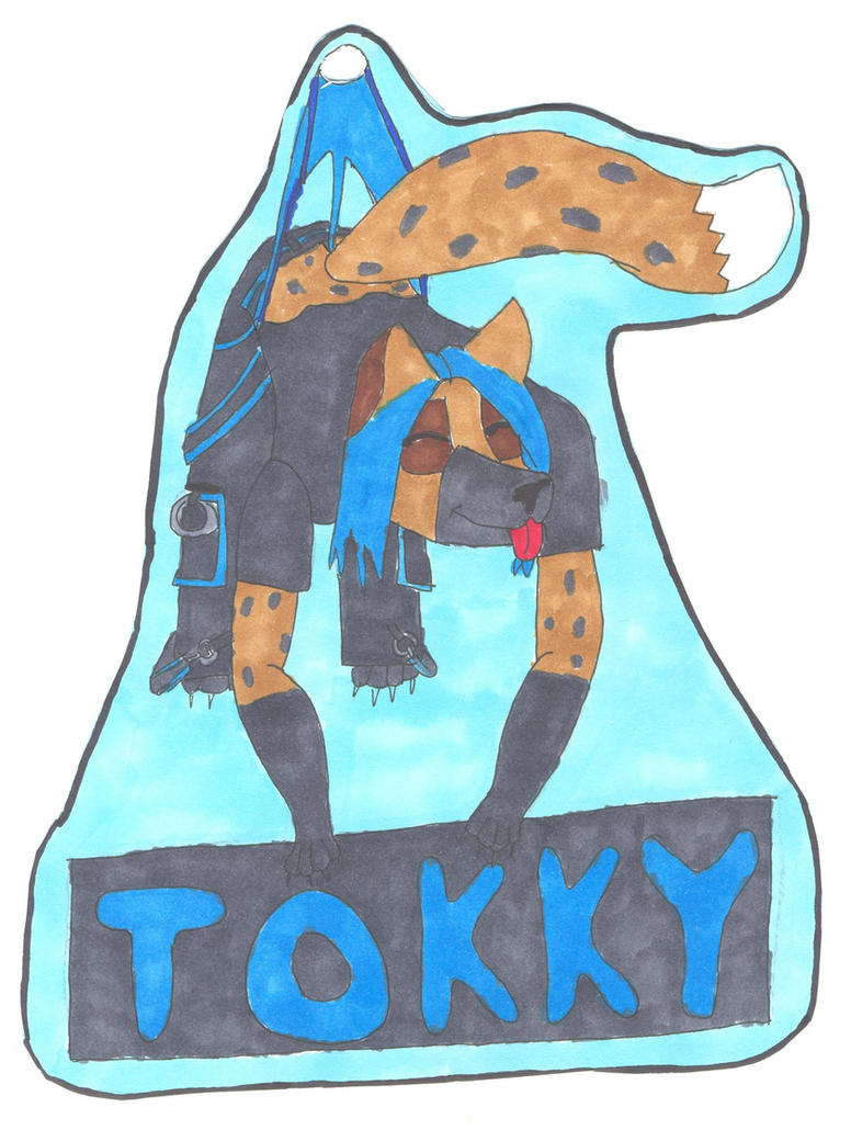 Tokky Conbadge 2: Wedgie by Wedgie-Fox