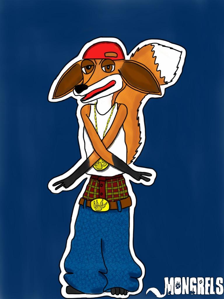 Mongrels Fanart: Gangsta Nelson by Wedgie-Fox