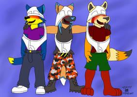 3 Adorkable Wedgie Buddies by Wedgie-Fox