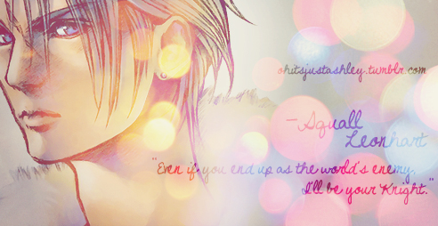 Squall Graphic by sweetbeloved