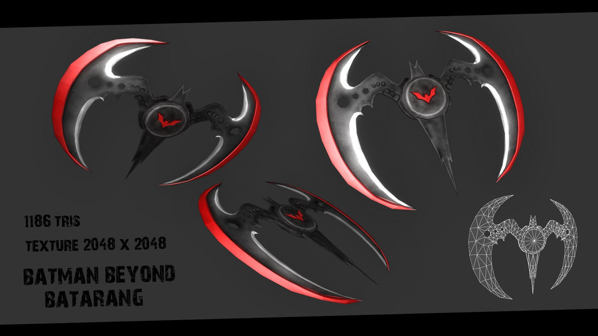 Batman Beyond Batarang by Ninja-Robot