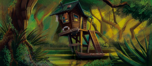 Swamp House by SAV83