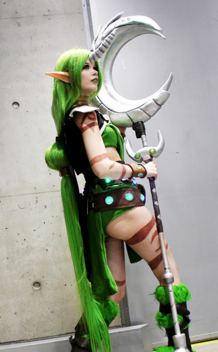League of Legends Cosplay - Dryad Soraka by KawaiiTine