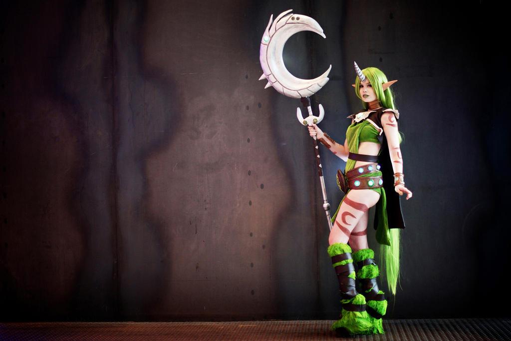 League of Legends Cosplay - Dryad Soraka 2. by KawaiiTine