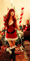 Candy Cane Miss Fortune - Merry Xmas!