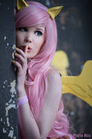 MLP Fluttershy - Hush now quiet now. by TineMarieRiis