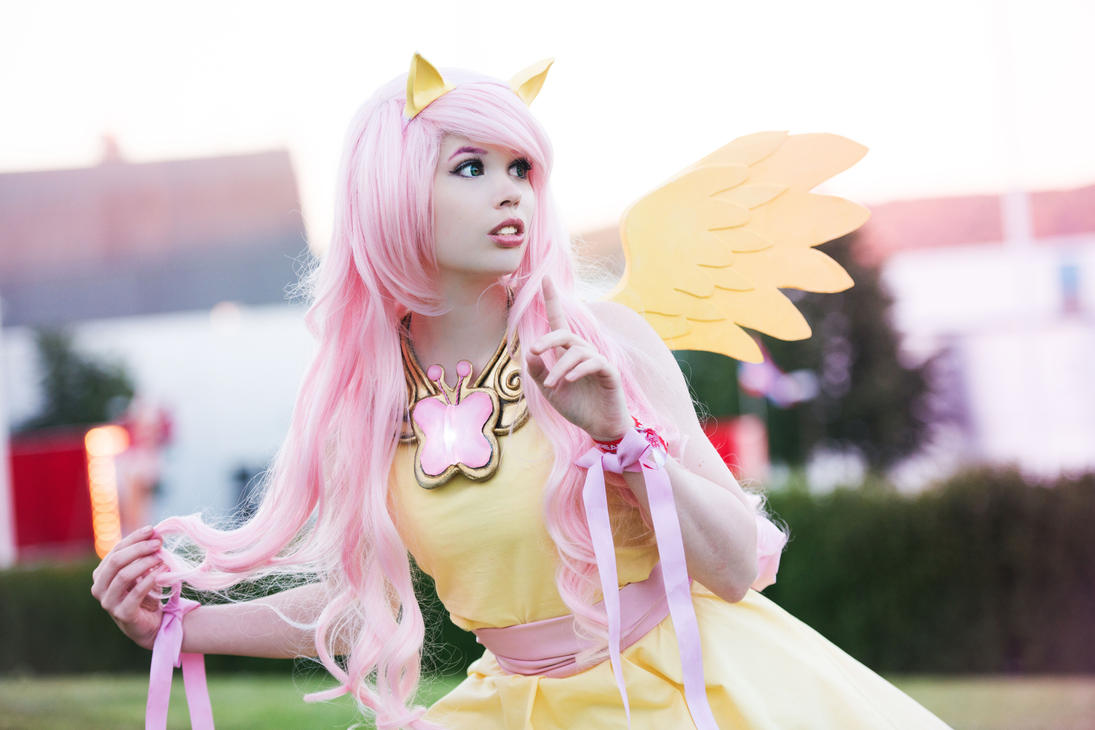 MLP: Fluttershy Cosplay by SylviaHope on DeviantArt