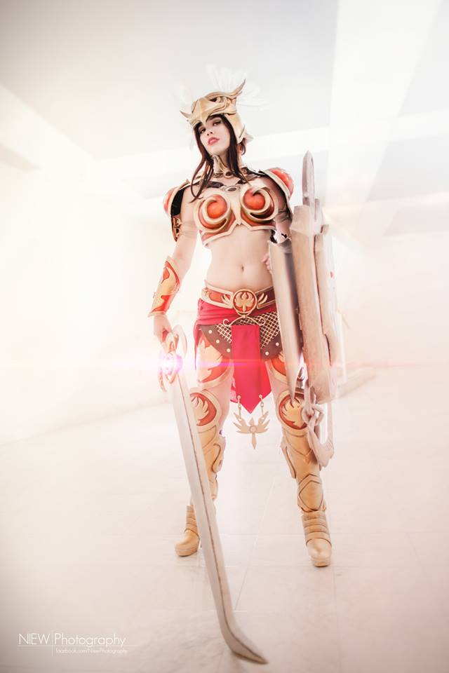 Valkyrie Leona Cosplay League of Legends! by KawaiiTine
