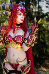 World of Warcraft Alexstrasza Cosplay ! by TineMarieRiis