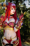 World of Warcraft Alexstrasza Cosplay !