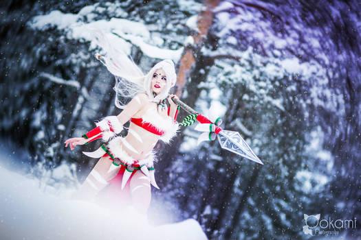 The untamed know no fear - Snow Bunny Nidalee