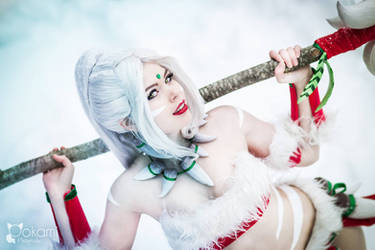 Cosplay - Snow Bunny Nidalee - League of Legends
