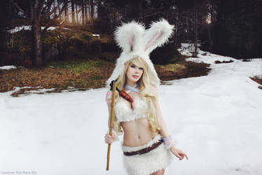 Hut, two, three, four! Cottontail Teemo Cosplay. by TineMarieRiis