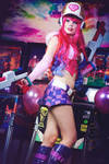 Arcade Miss Fortune Cosplay - The fun begins!