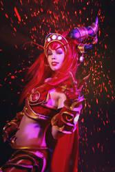 Alexstrasza Cosplay - World of Warcraft by TineMarieRiis