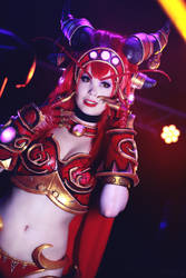 Yes Champion? Alexstrasza Cosplay. by TineMarieRiis