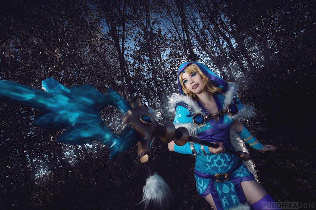 dota 2 crystal maiden cosplay by tinemarieriis on deviantart