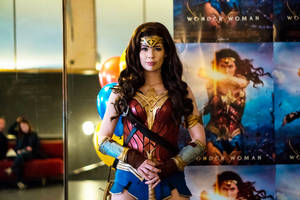 Wonder Woman Cosplay - Premiere 2017 by TineMarieRiis
