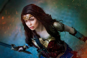 Wonder Woman Cosplay - Protect the Innocent! by TineMarieRiis