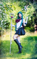 Sailor Moon / Crystal - Sailor Pluto Cosplay by TineMarieRiis