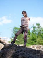 Tomb Raider 2018 Cosplay by TineMarieRiis