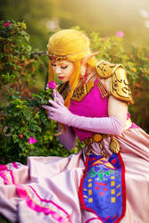 The Legend of Zelda Cosplay - Ocarina of Time. by TineMarieRiis