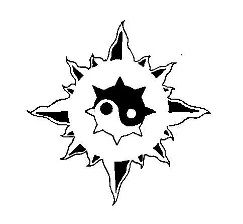 Tribal, celtic sun by EvilTank