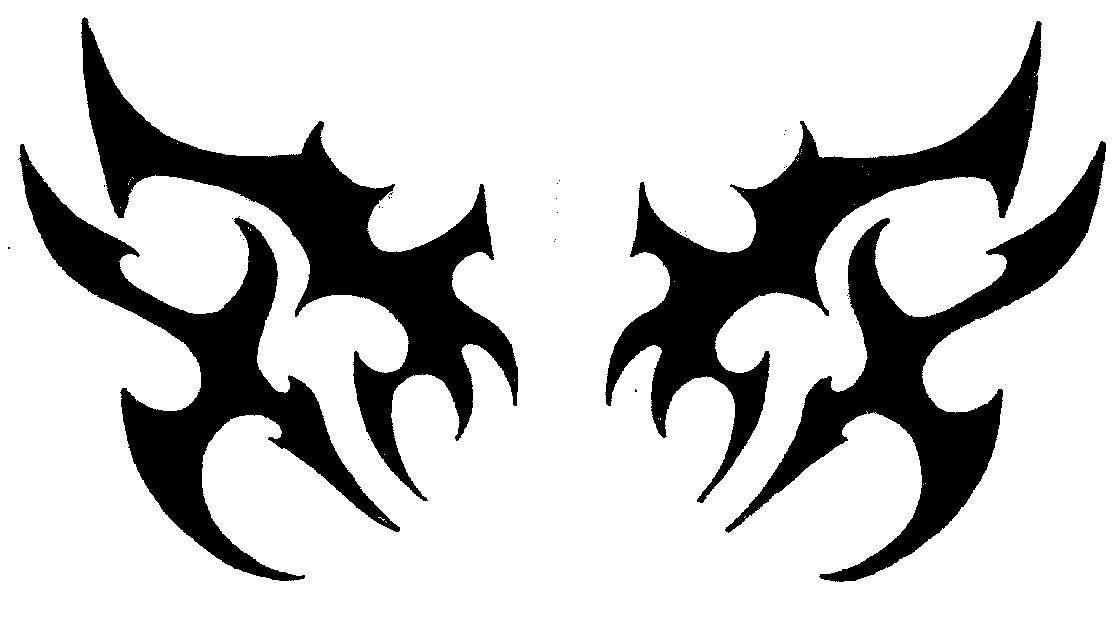 Tribal Demon Wings By Spiritsrebirth Deviantart – Desenhos Para Colorir