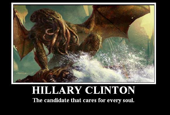 Hillary Chlinthon by BadinBox