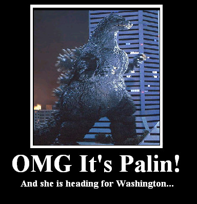OMG It's Palin by BadinBox