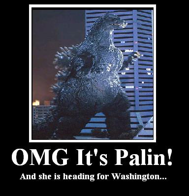 OMG It's Palin by BadinBox