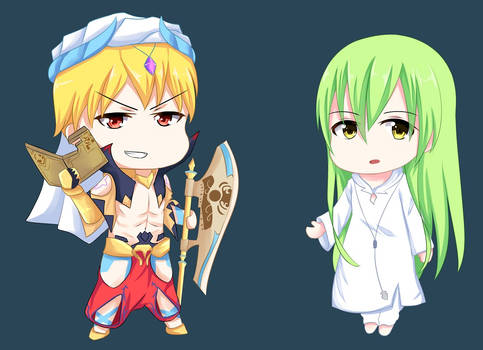 Gilgamesh and Enkidu