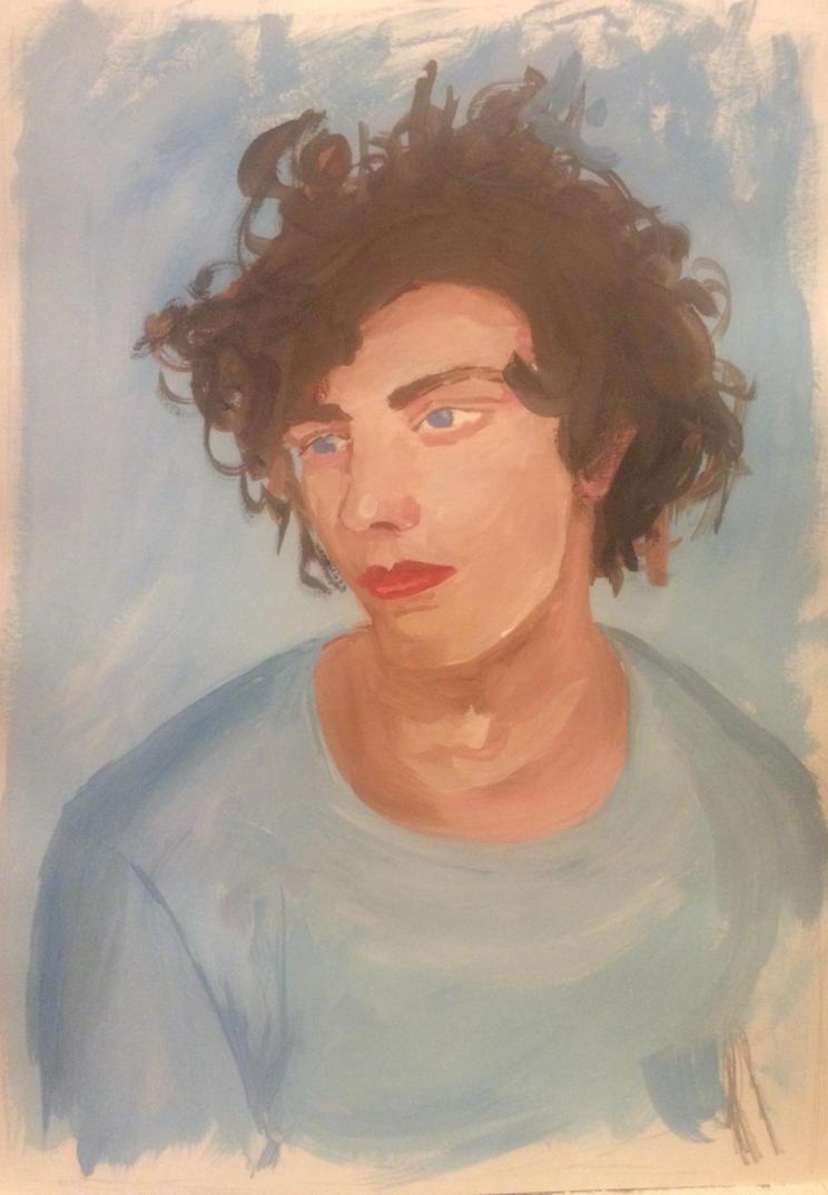 Blue boy by ahpe-crazy-crow