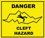 Danger Cleft Hazard
