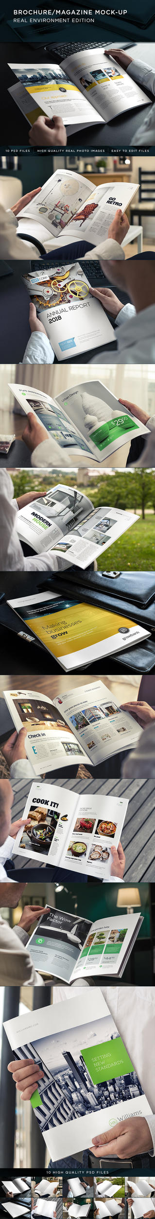 Brochure / Magazine Mock-Up by Genetic96