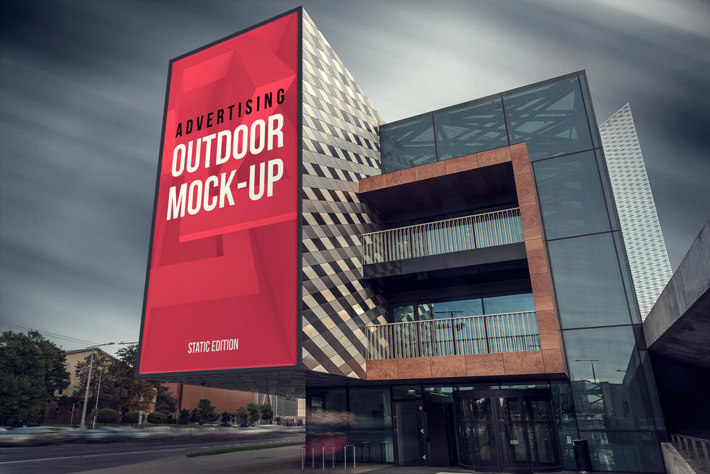 Animated Outdoor Advertising Mock-up by Genetic96