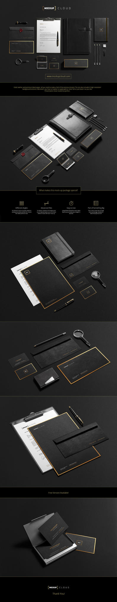 Premium Stationery Mock-Up by Genetic96