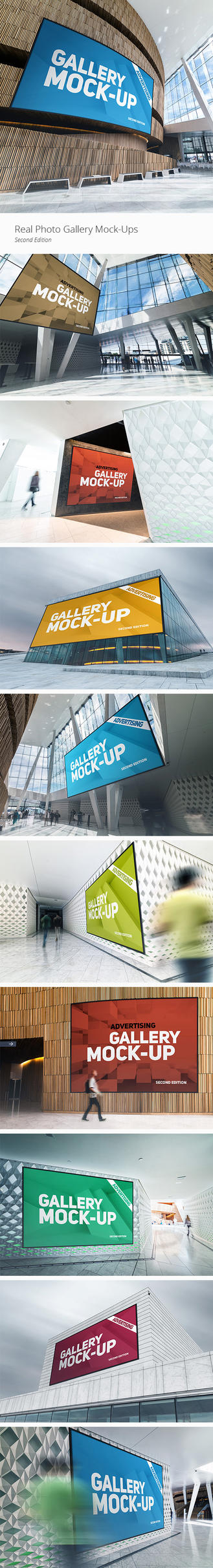 Gallery Poster Mock-Up by Genetic96