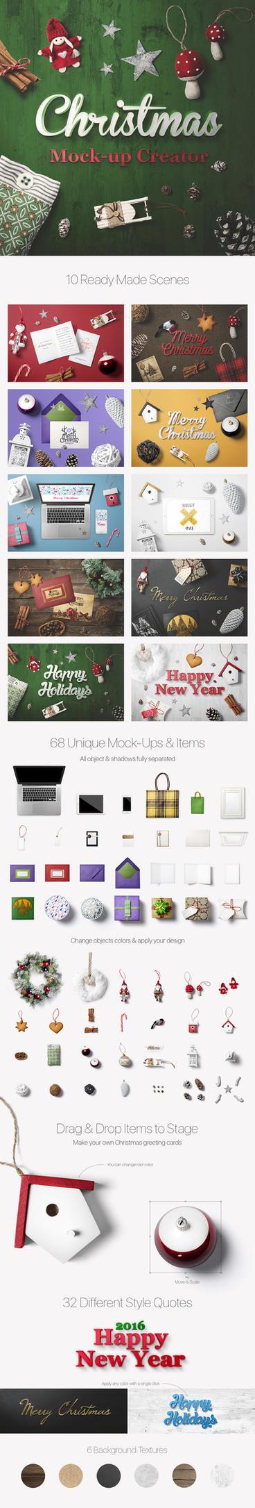 Christmas Mock-Up Creator by Genetic96
